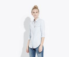 The Brushed Cotton Shirt | AYR