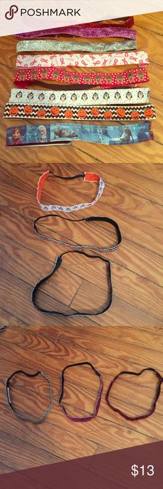 Stretch Headbands GUC Stretchy Headbands with various designs!  Selling all for this price! Accessories Hair Accessories