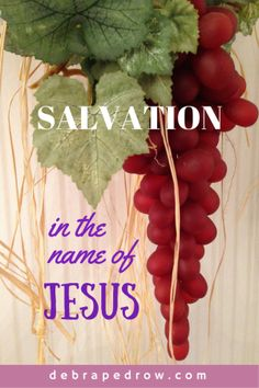 The name of JESUS defines salvation: deliverance from the power and effects of sin #LiftHimUp