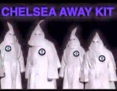 Piłkarze The Blues grają na wyjazdach w strojach ku klux klan • Śmieszne stroje wyjazdowe zawodników Chelsea Londyn • Wejdź i zobacz >> #chelsea #memes #football #soccer #sports #pilkanozna #funny