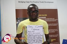 Joel, a student in Ghana, believes Conflict and Violence is a priority.  The Post-2015 Consensus youth forums are a platform for young people around the globe to express their top priorities for post-2015 development agenda! For more information visit www.post2015consensus.com/youth-forum