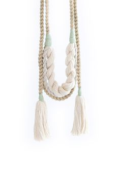 Kelp Wrap Necklace: Cave Collective                                                                                                                                                                                 More