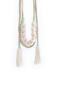Kelp Wrap Necklace: Cave Collective