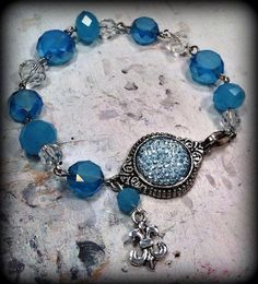 Bracelet Design & Handcrafted by Rachel's Originals:  Jewelry So Adorable,.. It's ADORNable  TO ORDER:  Please visit my FB and/or Esty pages  at the following links!      www.facebook.com/RachelsOriginals  www.rachelsoriginalgifts.etsy.com