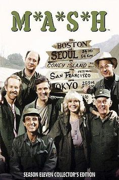 The television comedy M*A*S*H, based on Robert Altman's hit film of the same title (based, in turn, on Richard Hooker's novel), debuted in 1972. Set during the Korean War, the show revolved around the