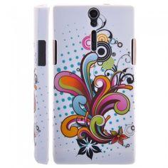 Custodia Sony Xperia S - Flower 1