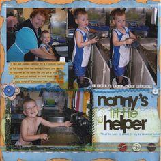 Nanny's+little+helper. - Scrapbook.com