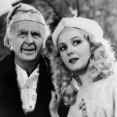 """Reginald Owen and Ann Rutherford  in """"A Christmas Carol"""" (1938) Must watch Holiday movie!  #VisioRx #VRx12HolidayWishes"""