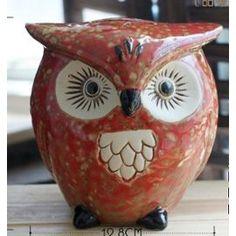 Tirelire Original Fantaisie Insolite Hibou Oiseau Ceramique Argile Glaise Poterie Adorable Enfants Clay Owl, Clay Birds, Ceramic Fish, Ceramic Birds, Ceramic Animals, Sculptures Céramiques, Bird Sculpture, Pottery Studio, Pottery Art