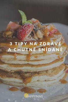 Granola, Pancakes, Food And Drink, Breakfast, Recipes, Fitness, Morning Coffee, Pancake, Muesli