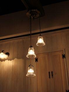 202A3 165 3灯ペンダントランプ rmp pdt( ペンダントライト 照明 LED電球 おしゃれ リビング用 北欧 和室 ダイニング用 食卓用 アンティーク LED 玄関) キャンドール ペンダントランプ キャンドール