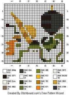 Altaroth Cross Stitch pattern