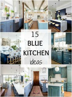 Gorgeous Blue Kitchen Ideas - Blue Kitchen Cabinet Ideas These are the most gorgeous blue kitchen ideas for any design style!These are the most gorgeous blue kitchen ideas for any design style! Small Kitchen Cabinets, Blue Cabinets, Kitchen Island, Blue Kitchen Designs, Kitchen Colors, Design Kitchen, Dining Room Furniture Sets, Furniture Plans, Furniture Buyers