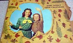 Girl Scout 1960 calendar