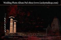 Wedding Photo Album 18x12 Psd Files Download