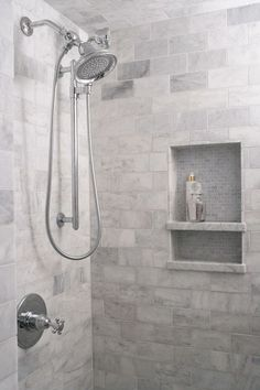 Heather Garrett Design - bathrooms - marble subway tile (scheduled via http://www.tailwindapp.com?utm_source=pinterest&utm_medium=twpin&utm_content=post19600106&utm_campaign=scheduler_attribution)