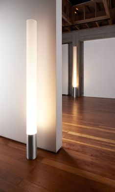 Streamlined, understated, and honest in its function as a light source, the Pablo Elise modern floor lamp celebrates the most classic of industrial forms: the cylinder.