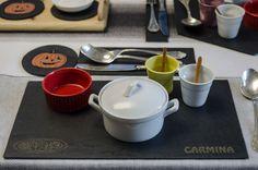 Dale a tu mesa un toque de originalidad: utilizando nuestros #platos de #pizarra…