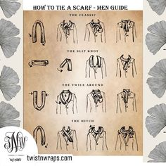 Checkout on Roposo.com - Scarf styling Tip By Twist N Wraps For Men Learn these basic though classic styling tips with www.twistnwraps.com Shop Men / Unisex Scarves now By clicking the link below https://www.twistnwraps.com/product-collections/men-collection