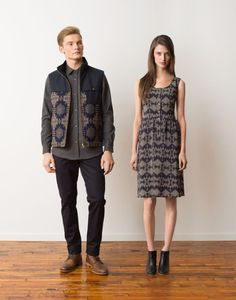 First look at Pendleton's newest The Portland Collection. LOVE this dress.