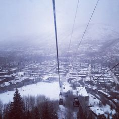 #Snow continues to fall #aspen #ajax #snowmass #ski #ride #snowday