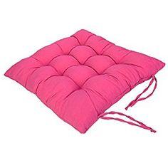 Amazon.com: Chair Pads Cushion Pad Seat Chair Patio Home Car Sofa Office  Square