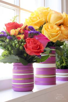 Radiant Orchid Vases