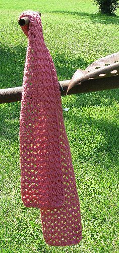Crochet Scarf free pattern.