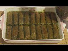 Glutensiz fıstıklı sarma (dürüm) - YouTube