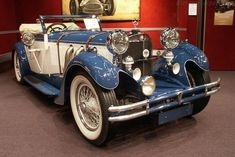 Mercedes-Benz 710 SS 27/170/225 hp Cabriolet A (Chassis 36352 - 2003 Retromobile) High Resolution Image