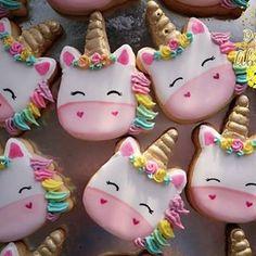#unicornio #unicorn #galletas #cookies #biscoitodecorado #galletadecorada #fiesta #babyshower #biscotti #biscoito #deliciosoabacaxi