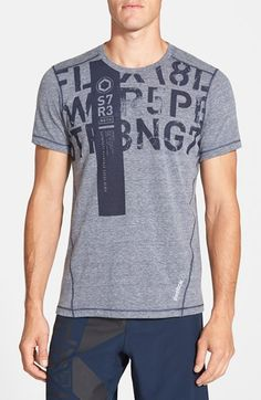 Reebok 'ONE Series Strength' PlayIce Training T-Shirt available at #Nordstrom