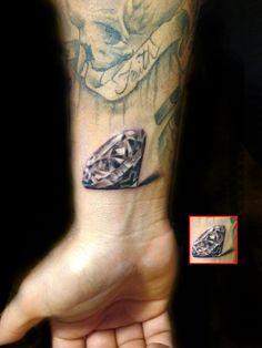 wing diamond tattoo - Google Search