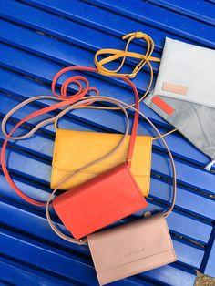 Die Minitaschen (Minibags) von lost&found sind der perfekte Alltagsbegleiter Shopper, Card Case, Rest, Wallet, Bags, Fashion, Accessories, Pocket Wallet, Handbags