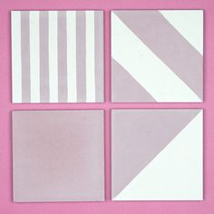Pink tiles by Otto Tiles & Design