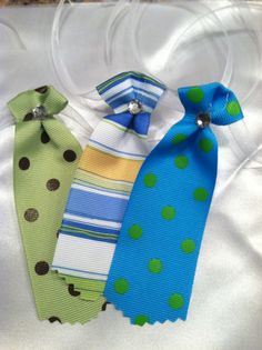 Neckties Bows Accessories for dogs by poshpetbakery on Etsy