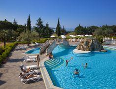Swimming pool at Hotel Maestral #lagunanovigrad #Novigrad #Istria #Croatia