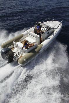 Inflatable boat / twin engine / semi-rigid  / with cabin / sundeck N-ZO 700 ZODIAC