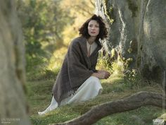 Outlander:    That awkward moment right before you fall through time.