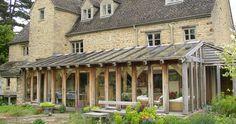 Garden room and oak framed conservatory