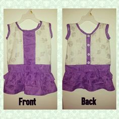 Baby girl's dress size 2t $30 nTICing dEsigns