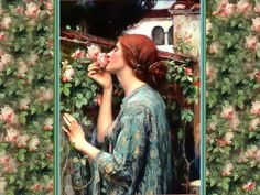 My Sweet Rose, by John William Waterhouse (1849 1917)