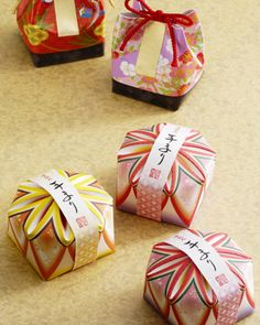 Japanese Sweets Packaging