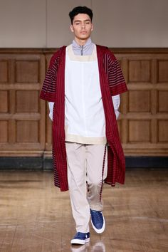 ALC Menswear AW18 • Look 2 Shoes: Converse One Star • Photo: SDR Photo Garments available to source on request • #ALCman #amandalairdcherry #SAMW #avantegarde #ratedonestar