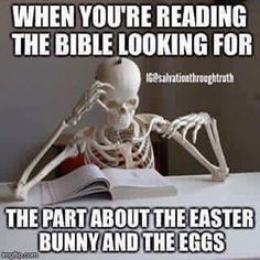 Easter or Ishtar? Either way it's false and not mentioned in the bible.