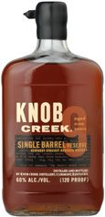 ***TRIED*** Knob Creek Single Barrel Reserve. Word of warning: this stuff is strong, so you'll want to take it with water, or an ice cube. With a single ice cube, this is simply delicious. A thick, luscious texture, with lots of sweetness and baking spice $$
