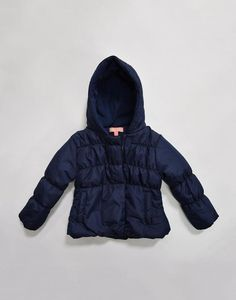 chinky minky toddler girl bubble jacket with hood Case of 24