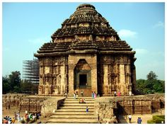 The symbol of excellence :  The Konark Sun Temple (also spelled Konarak) is a 13th-century Hindu temple dedicated to the sun god. Shaped like a giant chariot, the temple is known for the exquisite stone carvings that cover the entire structure.  The Konark Sun Temple is the most popular tourist destination in Orissa and has been a World Heritage Site