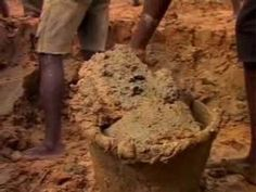 """""""Diamond mining in Sierra Leone""""...Alluvial diamond mining is a big business in the west-african country of Sierra Leone"""