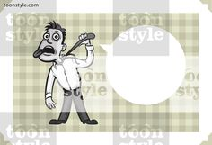 Greeting card with businessman hanging himself – personalize your card with a custom text